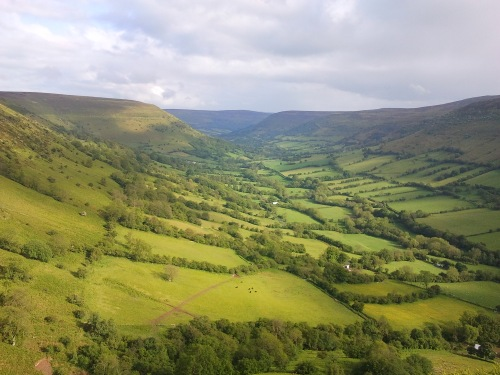 Llanthony valley