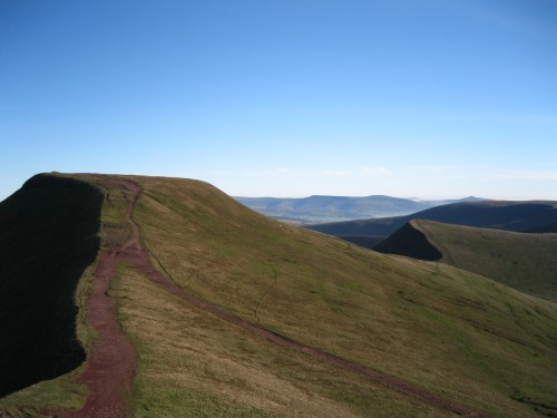 Pen-y-fan and Cribyn