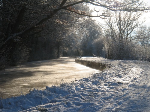 Brecon and Monmouthshire Canal in Winter