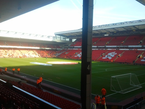 Anfield, Home of Liverpool F.C.